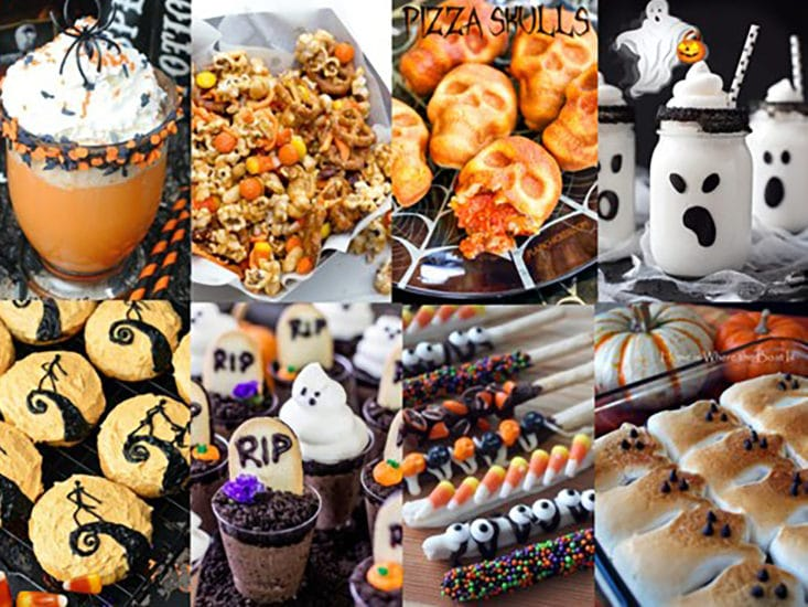 15 Halloween Party Snacks - A Girl in LA
