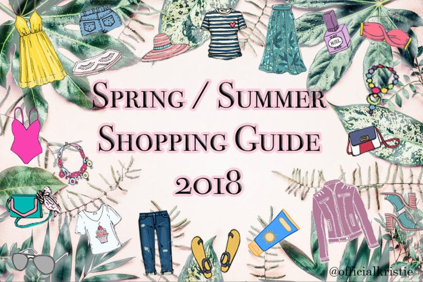 spring and summer shopping guide