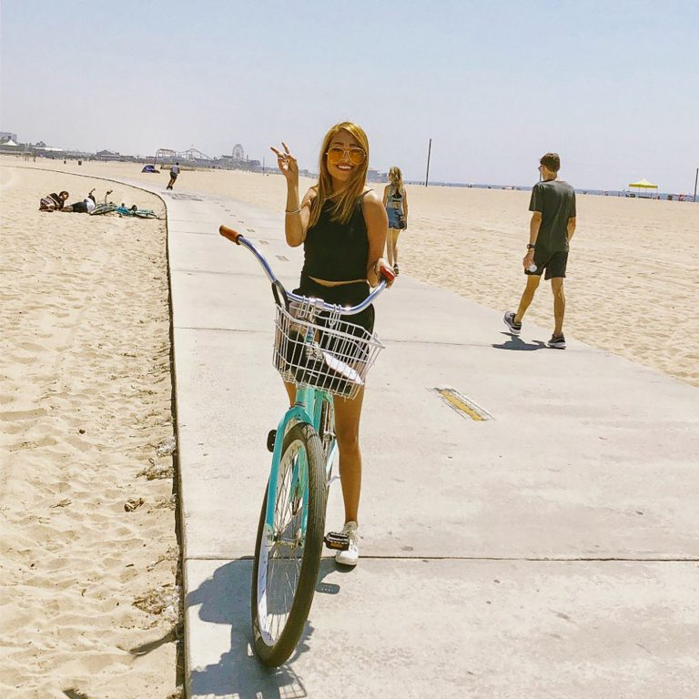 Cruising the beach in los angeles this weekend