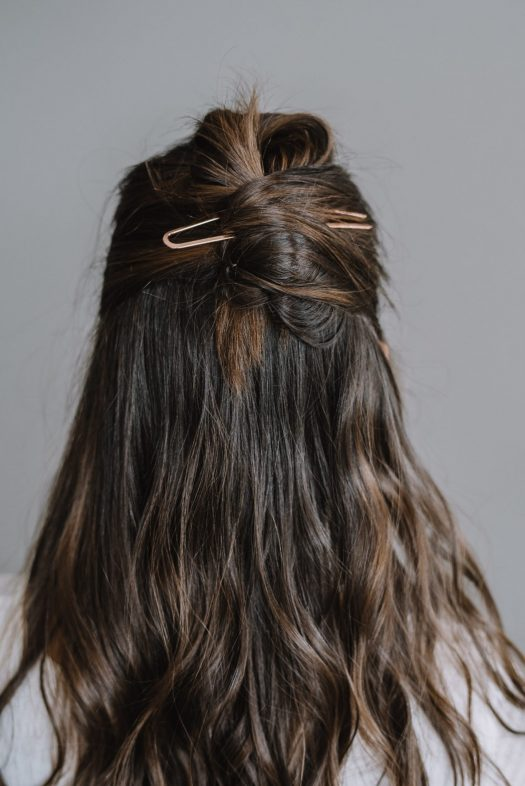 New Beauty Trends - Twisted Up Half Knot and A Hair Pin