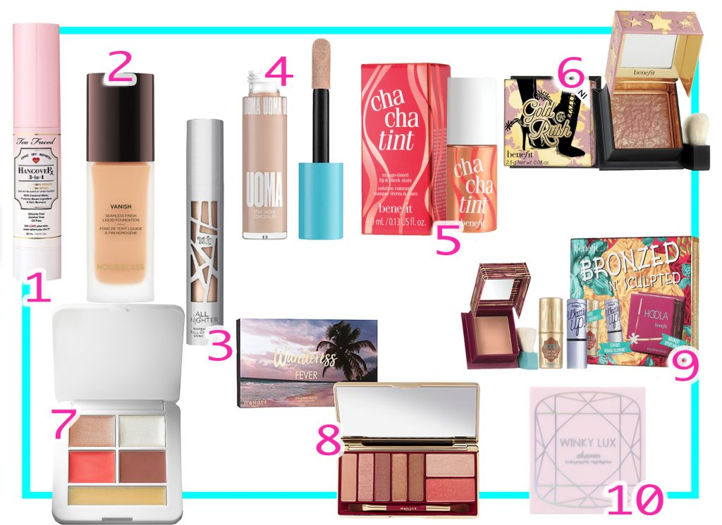 Best Travel Size Foundation and Blushes