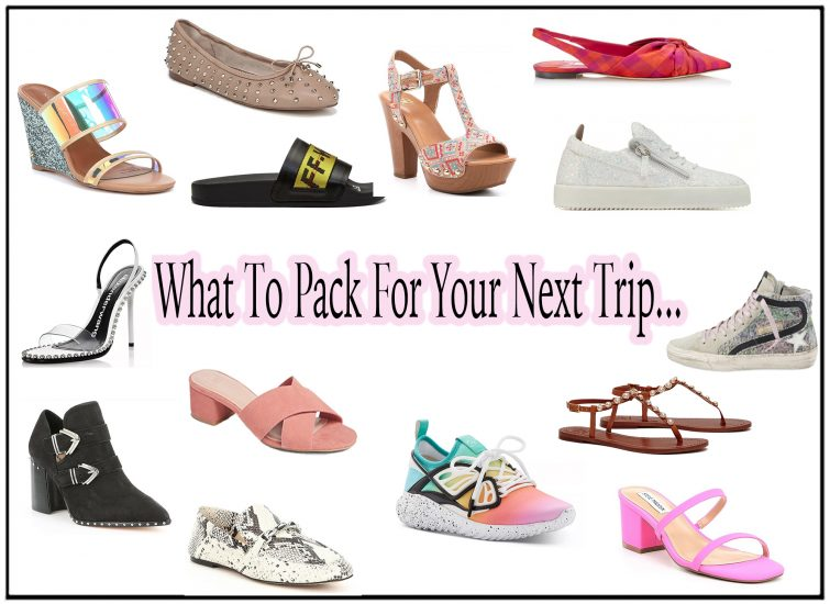 Travel Shoes - What To Pack For Your Next Trip