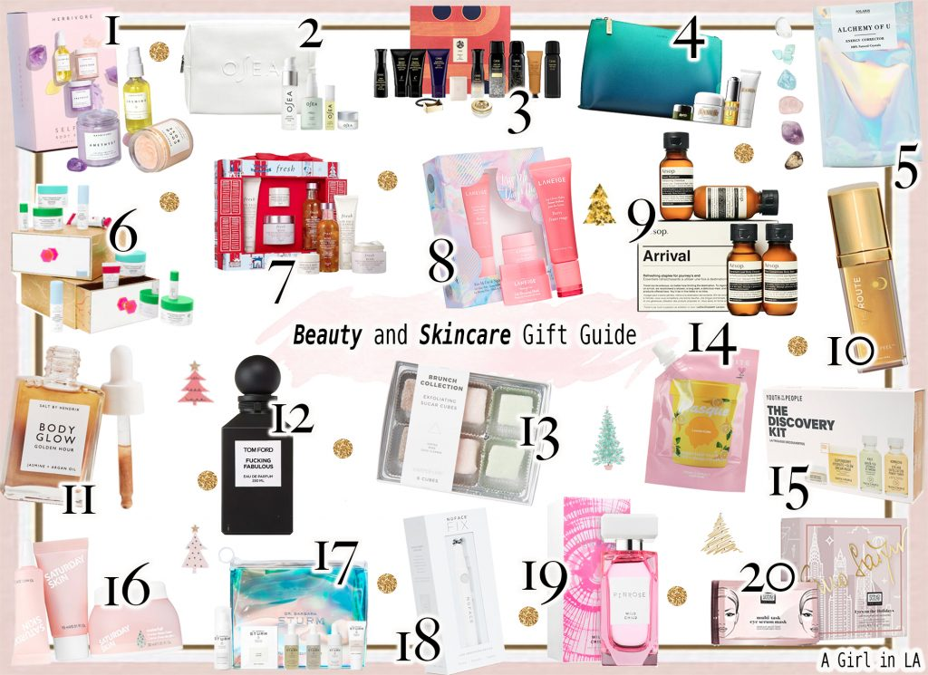 Makeup, Skincare, and All Things Beauty Gift Guide