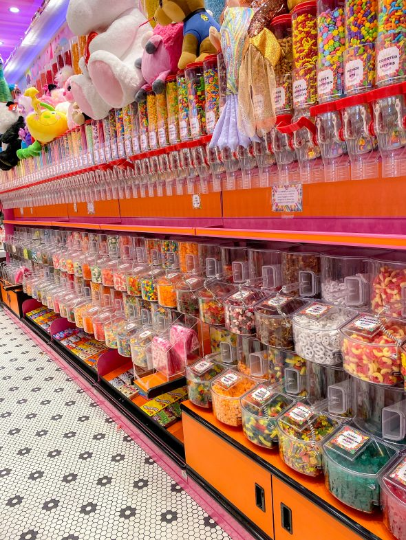 Candy store inside The Venetian