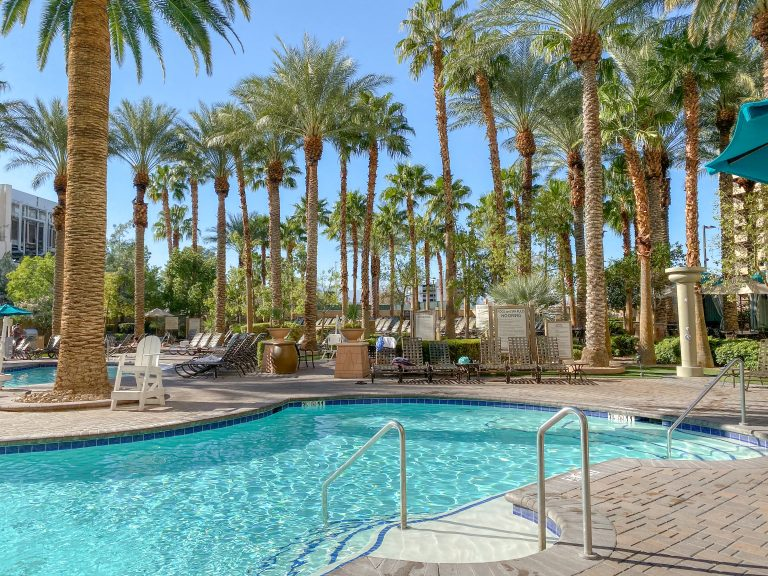 Pool at The Hilton Grand Vacations in Las Vegas