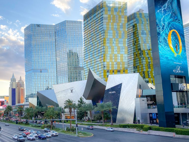 The Shops at Crystals on the Las Vegas Strip
