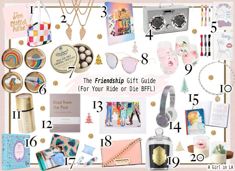 The Friendship Gift Guide (For Your Ride or Die BFFL)