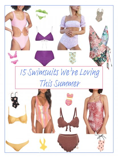 A List of 15 of Our Favorite Swimsuits for 2020
